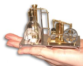 Ministeam Mini Beam Engine - Ready to run.